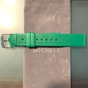 Michele Silicone Watch Strap